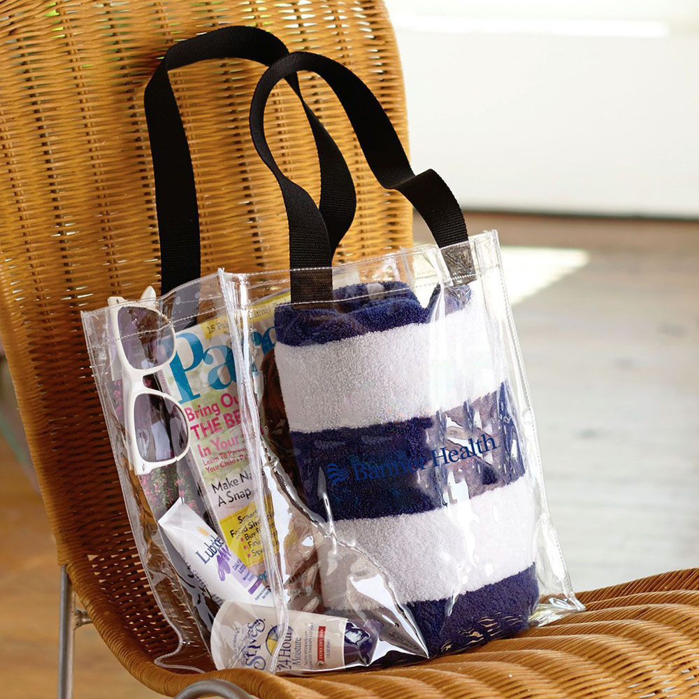 CLEAR NFL APPROVED STADIUM TOTE