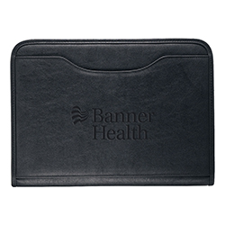 ZIPPERED DELUXE PADFOLIO