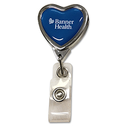 BANNER HEALTH RETRACTABLE BADGE HOLDER