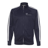 BUMC UNISEX POLY-TECH FULL ZIP TRACK JACKET