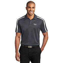 MENS PERFORMANCE STRIPE POLO