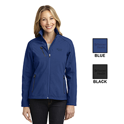 LADIES' WELDED SOFT SHELL JACKET