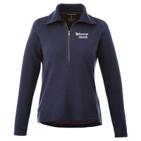 LADIES STRATTON KNIT HALF ZIP
